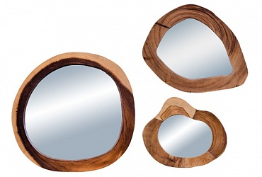 зеркала в деревянной раме